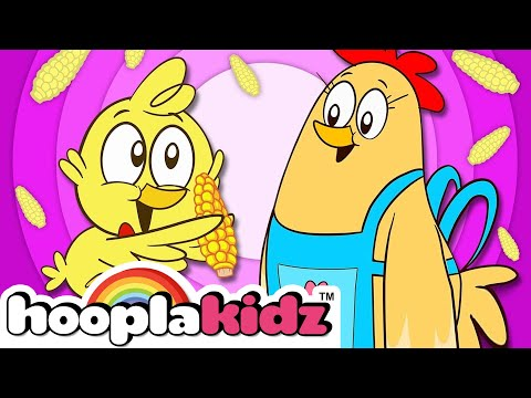 The Chicks Song - Three Cute Little Chicks | +More Nursery Rhymes & Kids Songs - HooplaKidz