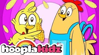 Three Cute Little Chicks Song + More Nursery Rhymes & Kids Songs - HooplaKidz