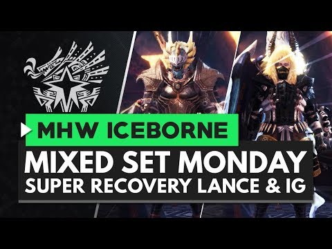 Monster Hunter World Iceborne | Super Recovery Lance & Insect Glaive Sets - Mixed Set Monday
