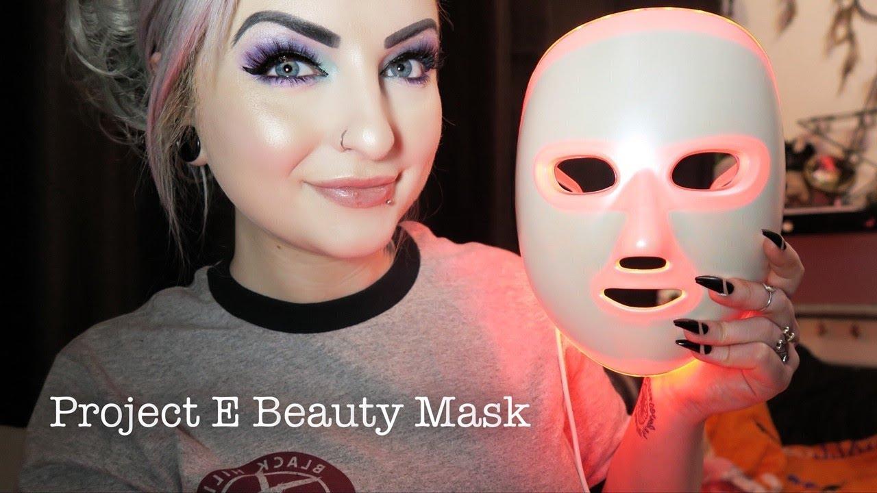 Project E Beauty Led Rejuvenation Mask Review Photon Therapy