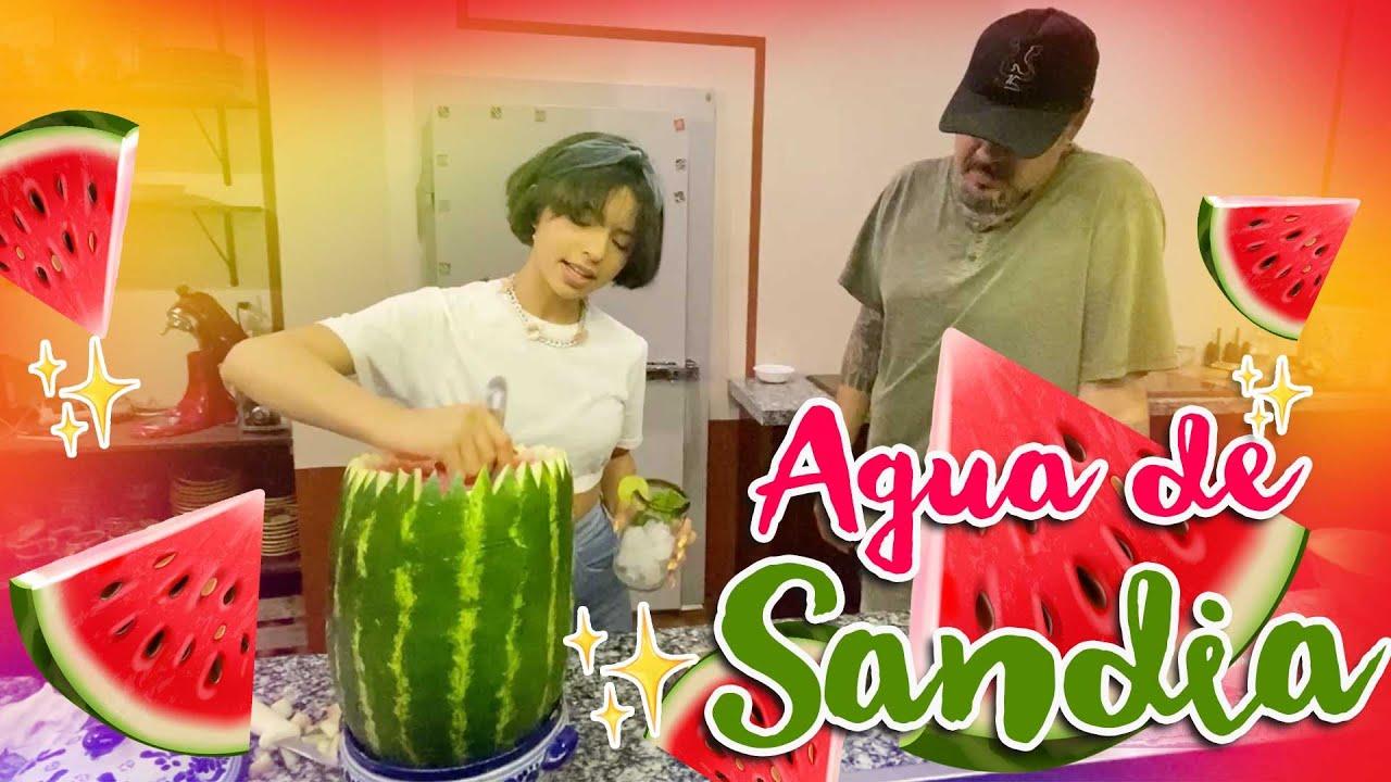 Ángela Aguilar - Mi Vlog #72 Agua de Sandía