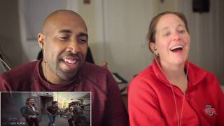 Chrissy Teigen & Average Andy Go Through a Haunted House cut beginning - REACTION
