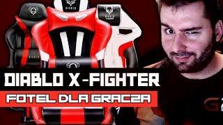 #10 Unboxing Fotel Dla Graczy | Diablo X-Fighter | Wideorecenzja