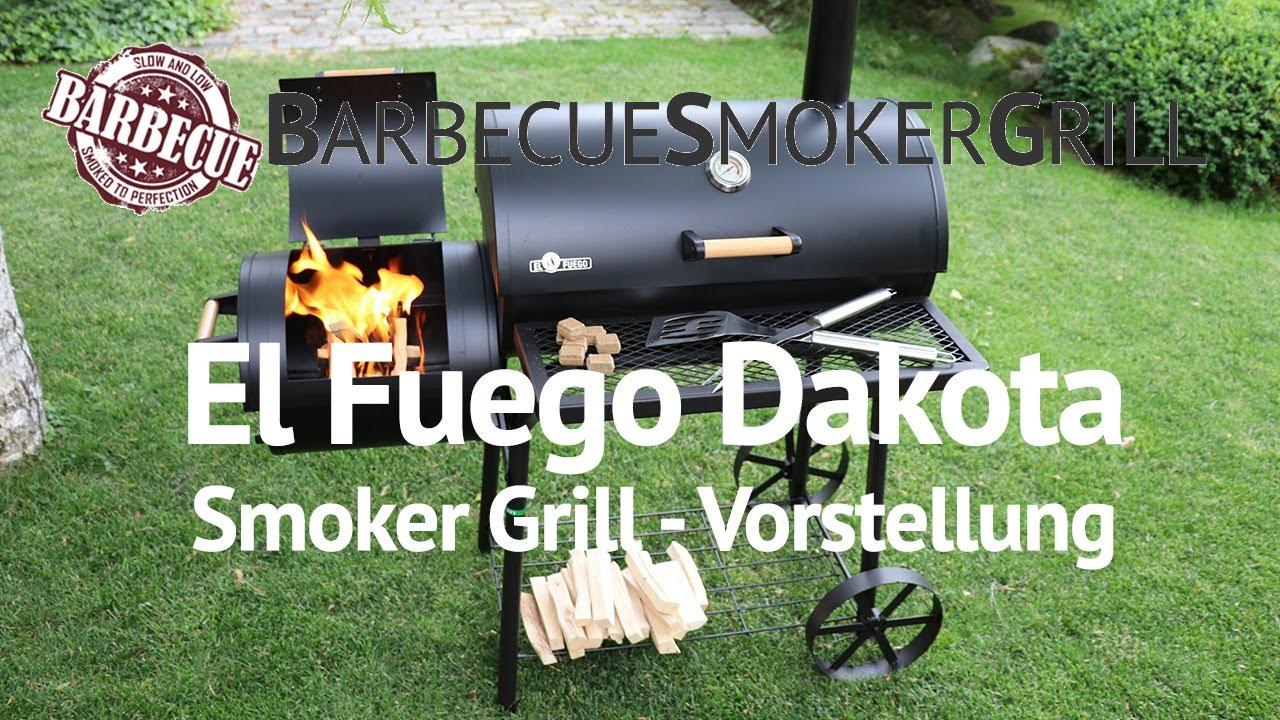 El Fuego Holzkohlegrill Ontario Test : El fuego ay ontario holzkohle grillwagen gartenxxl youtube