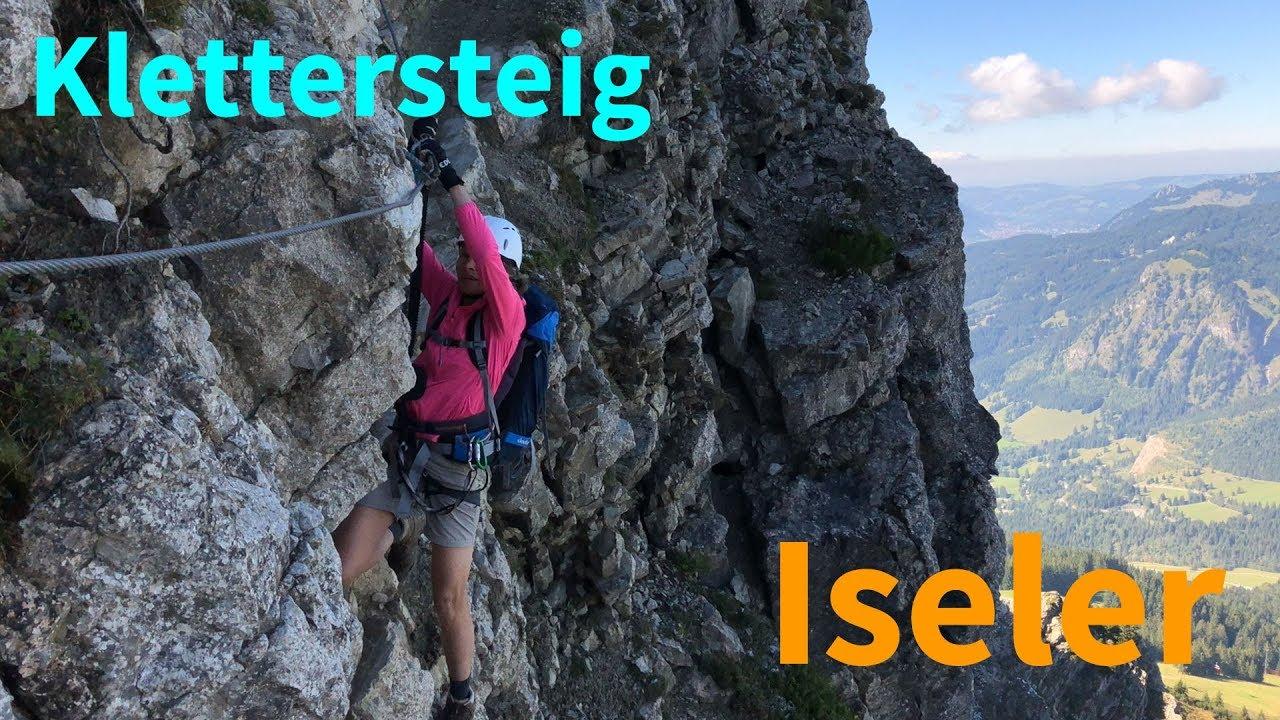 Klettersteig Oberjoch : Oberjoch salewa klettersteig