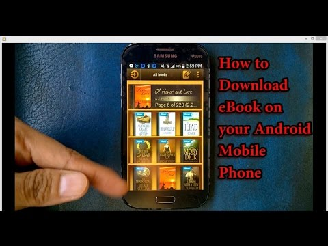 How To Download Ebooks On Android Mobile Phones 2016 App