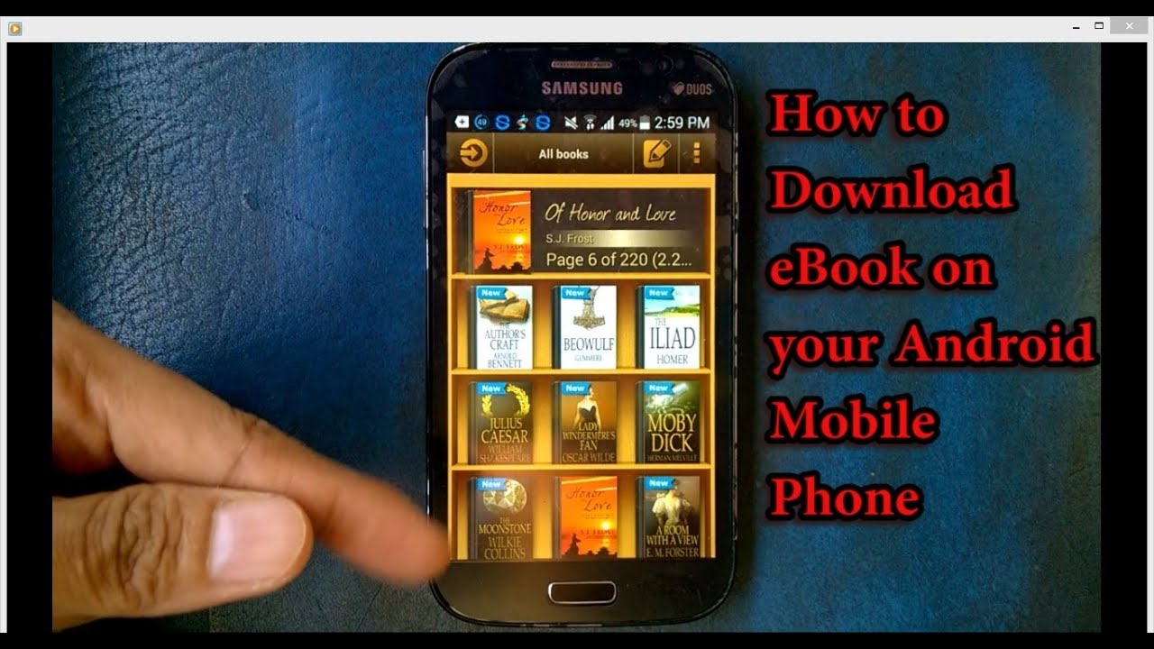 Ebook For Mobile Phones