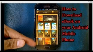 Gambar cover How To Download Ebooks on Android Mobile Phones 2016 app