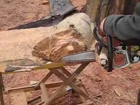 chainsaw carving a bear pdf