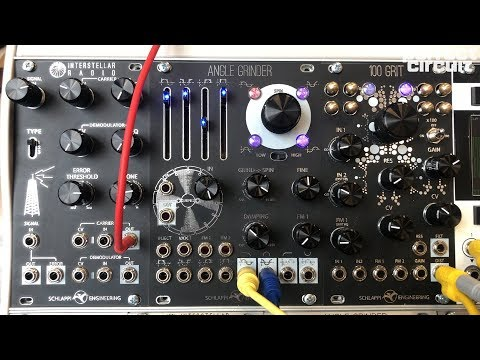 Schlappi 100 Grit Sounds SuperBooth 2019