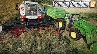 """Farming Simulator 19 """"Moja Amerykańska Gospodarka""""#4 ㋡ Żniwa i sprzedaż plonów  ✔ MafiaSolecTeam"""