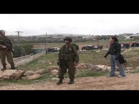 Israel Soldier VS Palestine Girl