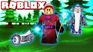 BECOMING a MIGHTY WIZARD in ROBLOX 🧙 → Wizard Training Simulator 🎮