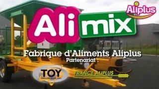 Fabrique d'aliments des bovins AliMix René TOY / France Aliplus