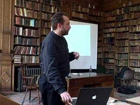 Wikipedia Founder, Jimmy Wales, in Oxford (part 2)