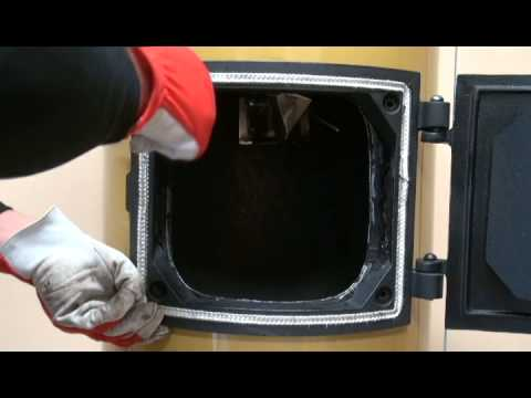 Www.stropuva.lt - Durelių Keitimas / замена двереи / Changing Of The Boiler Doors