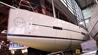 2016 Dufour 412 Grand Large Sailing Yacht - Deck and Interior Walkaround - 2015 Salon Nautique Paris