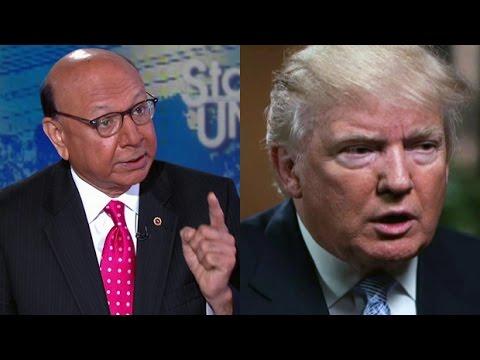 Donald Trump vs. the Khan family
