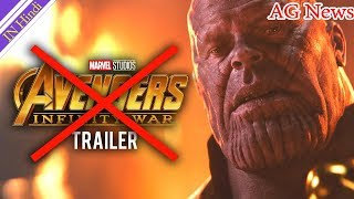 Disney confirmed that there will NOT be a New Avengers Infinity War Trailer Released AG Media News