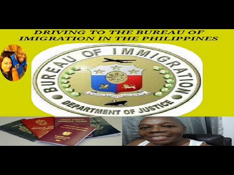 Driving To The Bureau Of Immigration In The Philippines