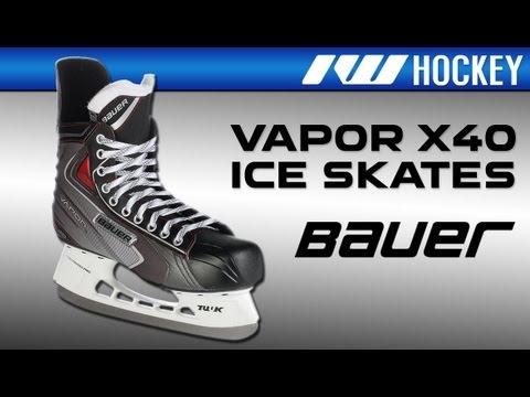 Bauer Vapor X40 Ice Hockey Skate Review