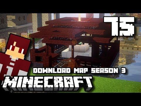 TEMPAT BEACON DI ATAS AIR !! - Minecraft Survival Indonesia #75
