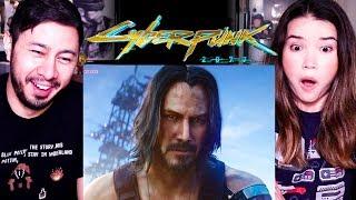 CYBERPUNK 2077 | Cinematic Trailer ft. KEANU REEVES | E3 2019 | Reaction!