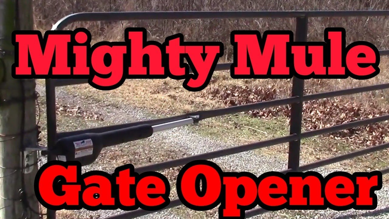 Troubleshooting A Mighty Mule Gate Opener Youtube