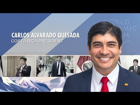 Exclusive: the Costa Rican president and Armenian PM at WEF 2019