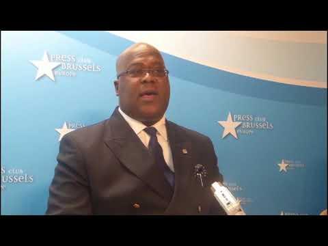 Félix Tshisekedi à Bruxelles: pas d'élections= départ de Kabila