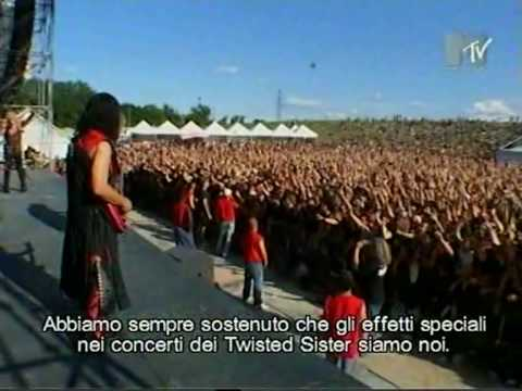 Twisted Sister live in Italy - Gods Of Metal 2004