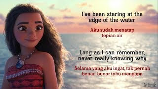 How Far I'll Go - Alessia Cara [Hanin Dhiya Cover] - (Moana OST) Lyrics video dan terjemahan