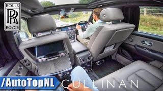 ROLLS ROYCE CULLINAN V12 - PASSENGER POV - GADGETS & FEATURES by AutoTopNL