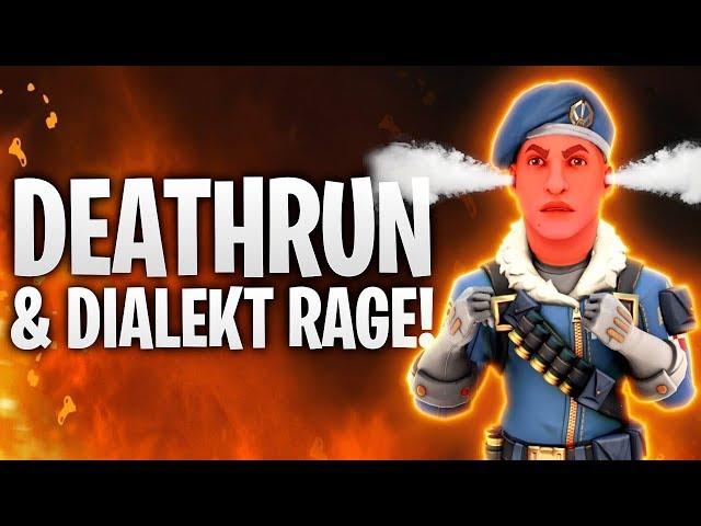 DEATHRUN = DIALEKT RAGE! 🔥   Fortnite: Battle Royale