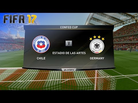 FIFA 17 - Chile vs. Germany (Confederations Cup - Final)