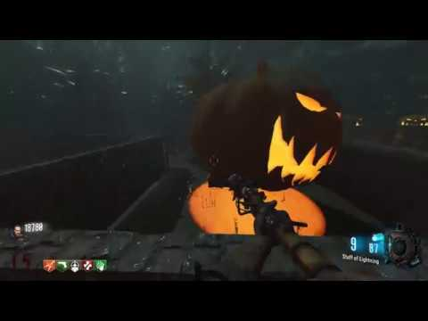 (Call Of Duty Zombies)THE HALLOWEEN GRAVEYARD!