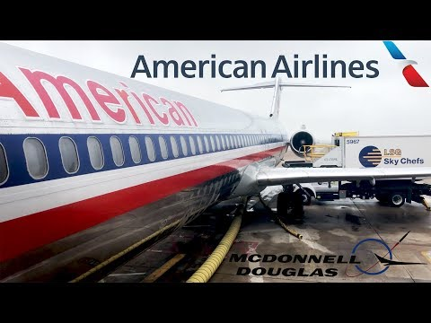 TRIP REPORT: American Airlines | McDonnell Douglas MD-83 | Dallas/Ft. Worth - Oklahoma City | Main