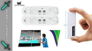 Data Frog - 8bit Portable / Wii Clone Wireless Plug n Play Controller Set