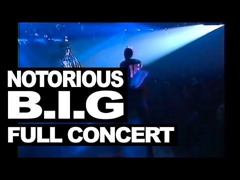 The Notorious B.I.G full concert live in London 1995 #WeMissYouBIG