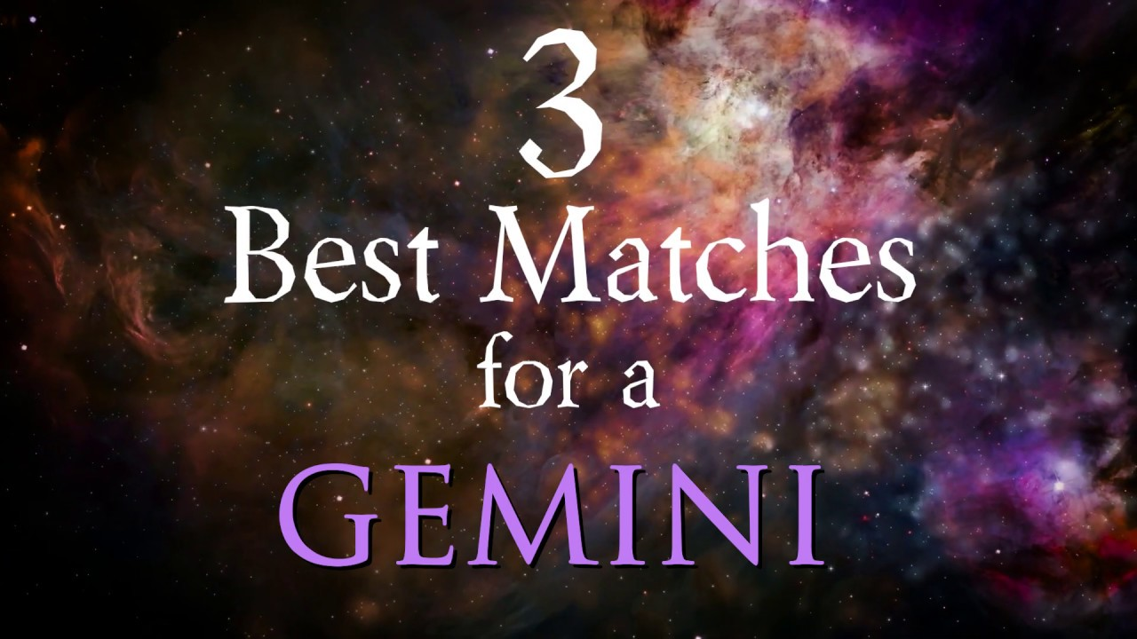 3 Best Compatibility Matches for Gemini Zodiac Sign