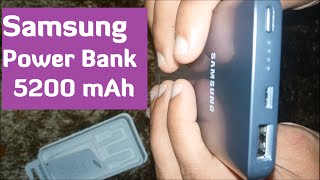 Samsung Power Bank Battery Pack (EB - PN920) Fast Charge 5200 mAh Unboxing