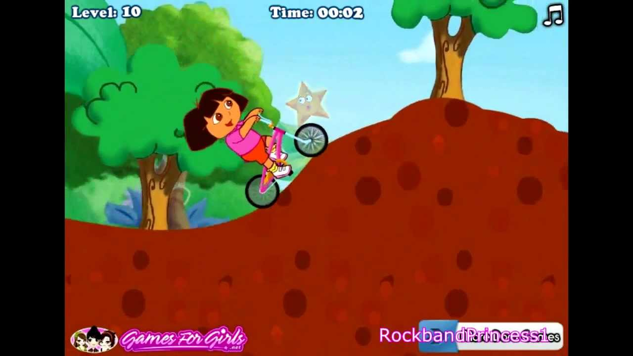 dora cycle games play free online