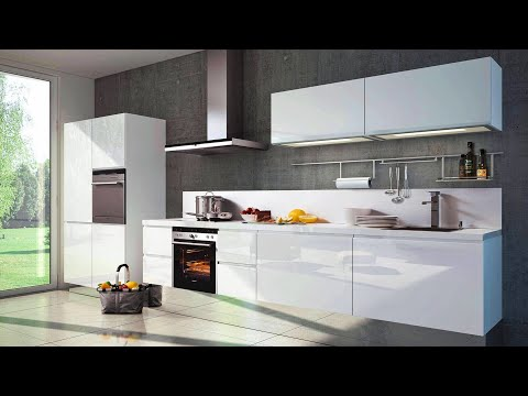 White Modular Kitchen Design Ideas 2020 Modern Kitchen Cabinet Designs In White Colour Youtube