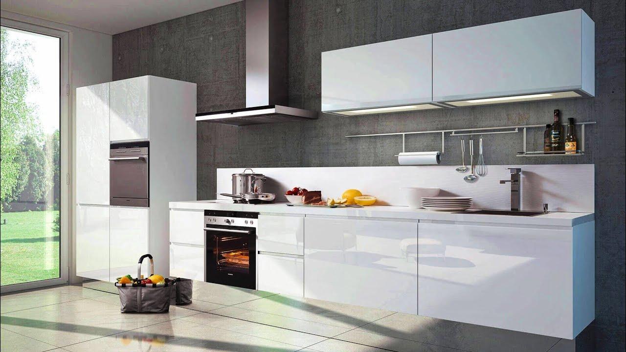 White Modular Kitchen Design Ideas 9   Modern Kitchen Cabinet Designs in  White Colour