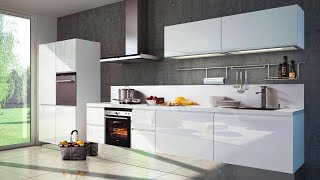 White Modular Kitchen Design Ideas 2020 Modern Kitchen Cabinet Designs In White Colour Youtube