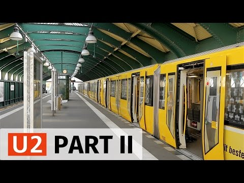 U-Bahn Berlin: U2 Action in the Center - Part 2