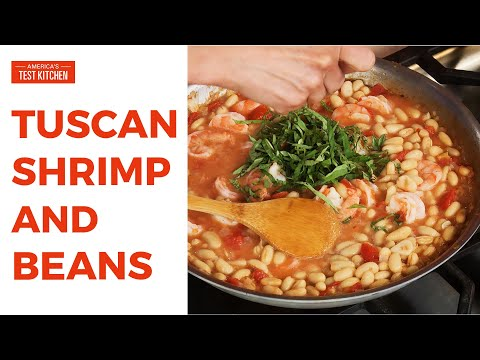How to Make Tuscan Shrimp and Beans