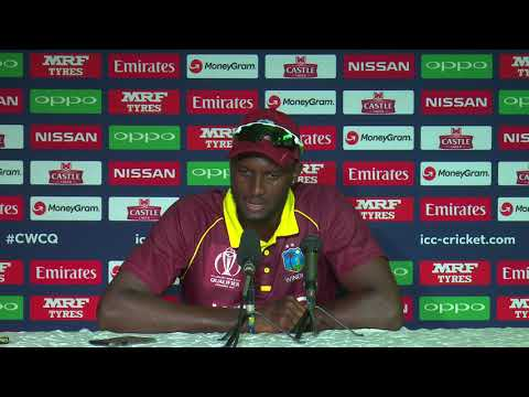 CWCQ : West Indies Caption Jason Holder - Post match press conference 15th March 2018