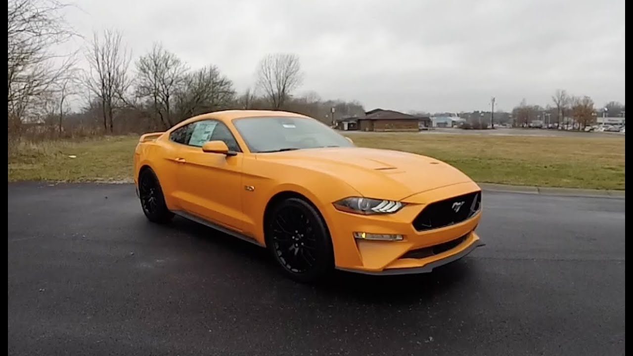 2018 ford mustang gt premium fastbackwalk around videoin depth review