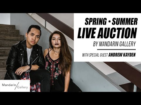 TSL x Mandarin Gallery Spring - Summer Live Auction | TSL LIVE - Ep 2
